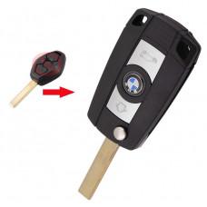 Корпус выкидного ключа BMW три кнопки