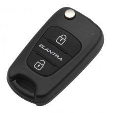 Выкидной ключ для Hyundai Elantra 2010-2013 г.в.
